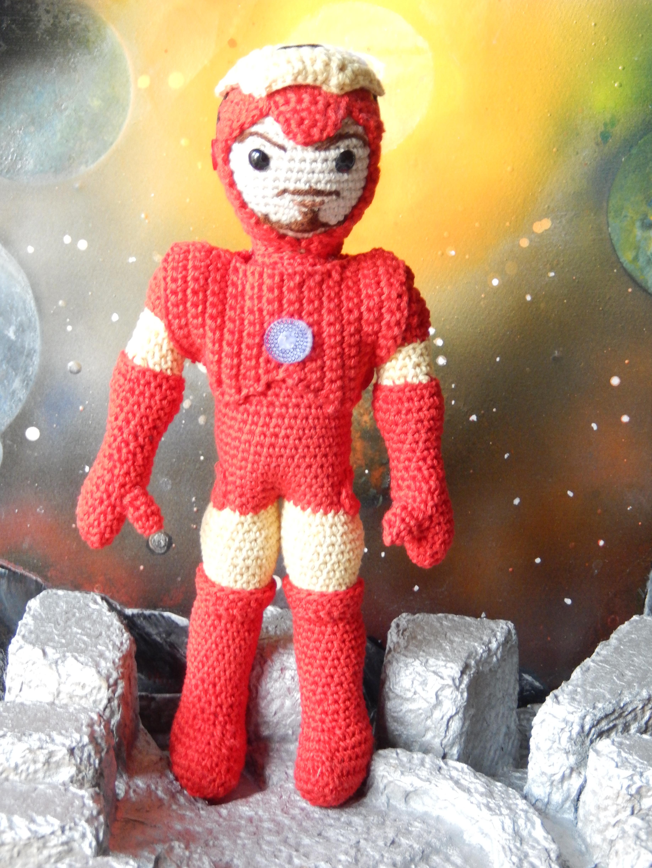 Iron Man Crochet Pattern Iron Man Media Crochet me