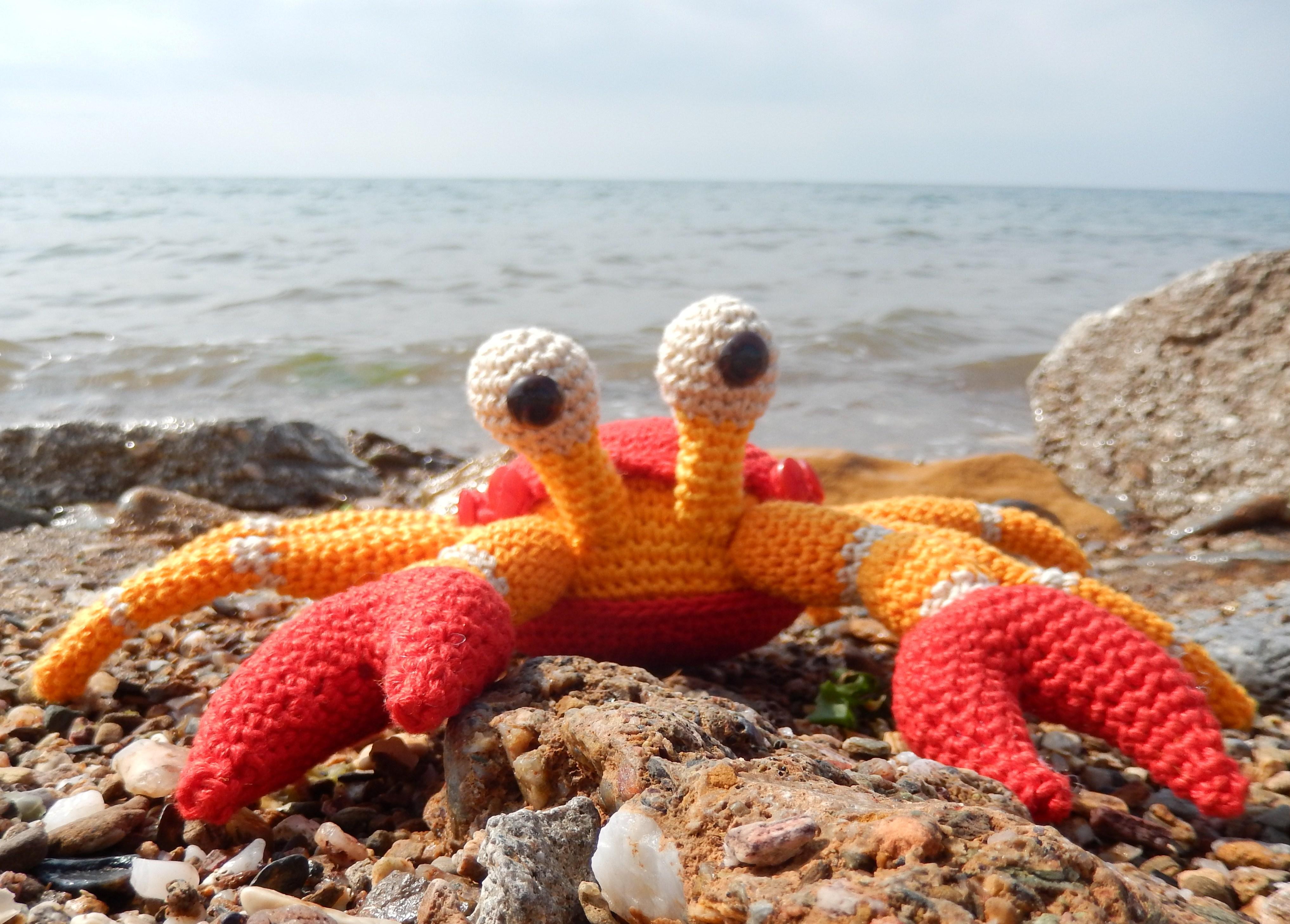 The Little Crab Coconut – Part 1 | Amilovesgurumi